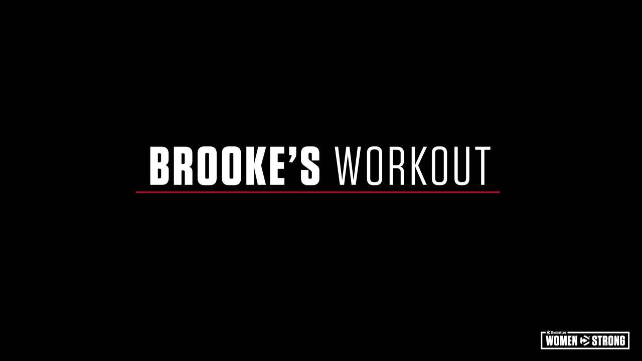 Women Strong: Brooke Erickson's Total-Body Workout Video