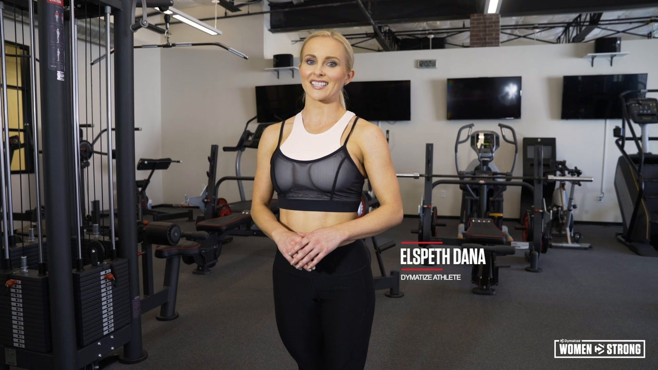 Women Strong: Elspeth Dana's Full-Body Strength and Cardio Workout Video