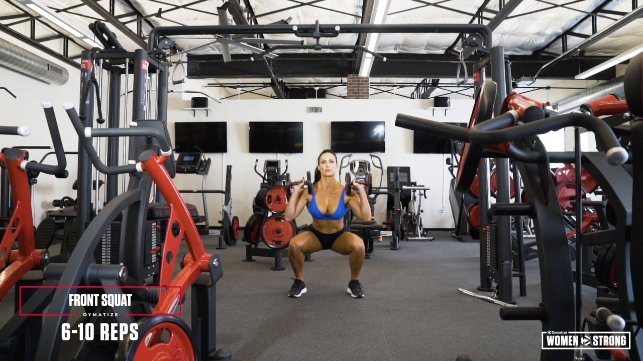 Women Strong: Erin Stern's All-Dumbbell Total-Body Workout Video