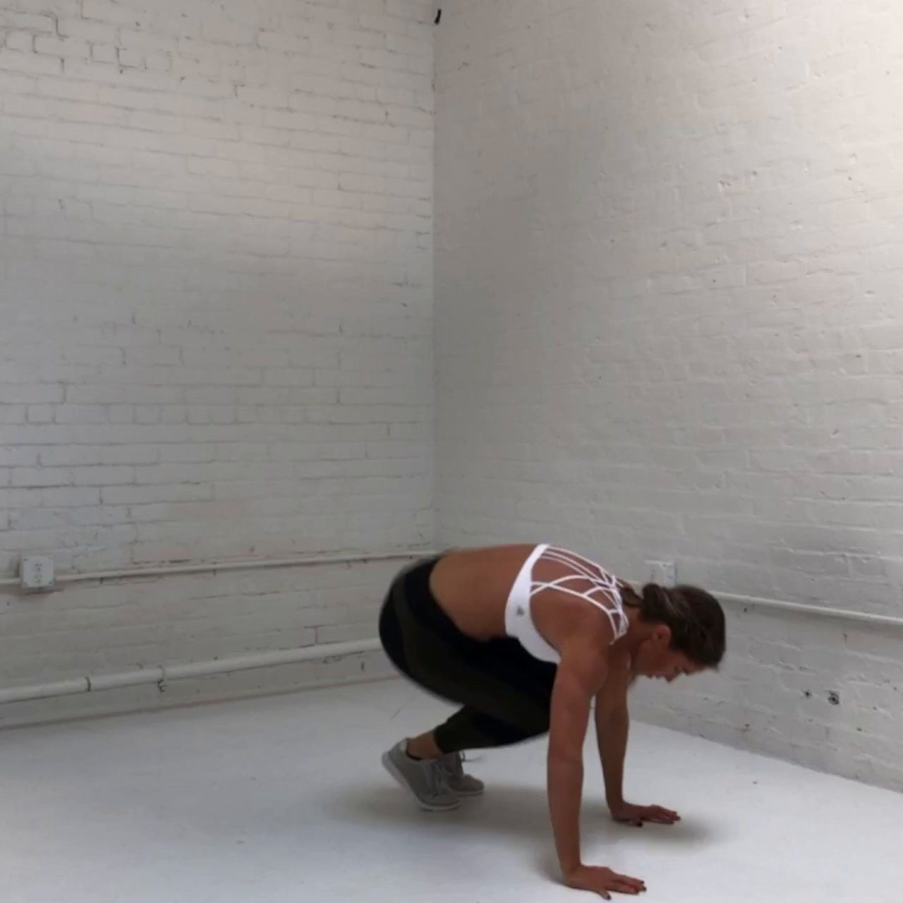 In and Out Burpee