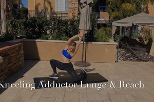 Kneeling Adductor Lunge and Reach