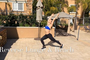 Reverse Lunge and Reach