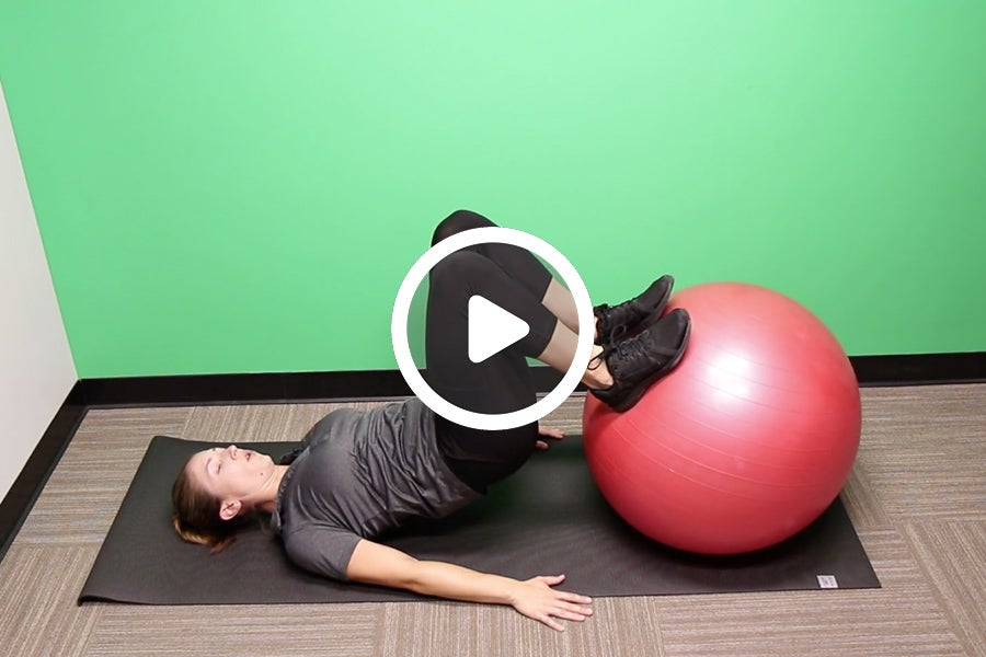 Ask the Professor: Hamstring Conditioning Ball Curl