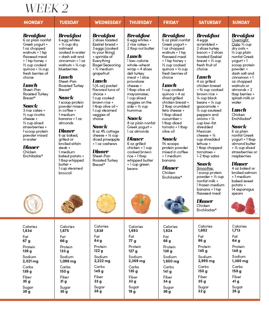 2 Week High Protein Meal Plan
