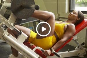 Candice Lewis-Carter's Defining Leg Circuit