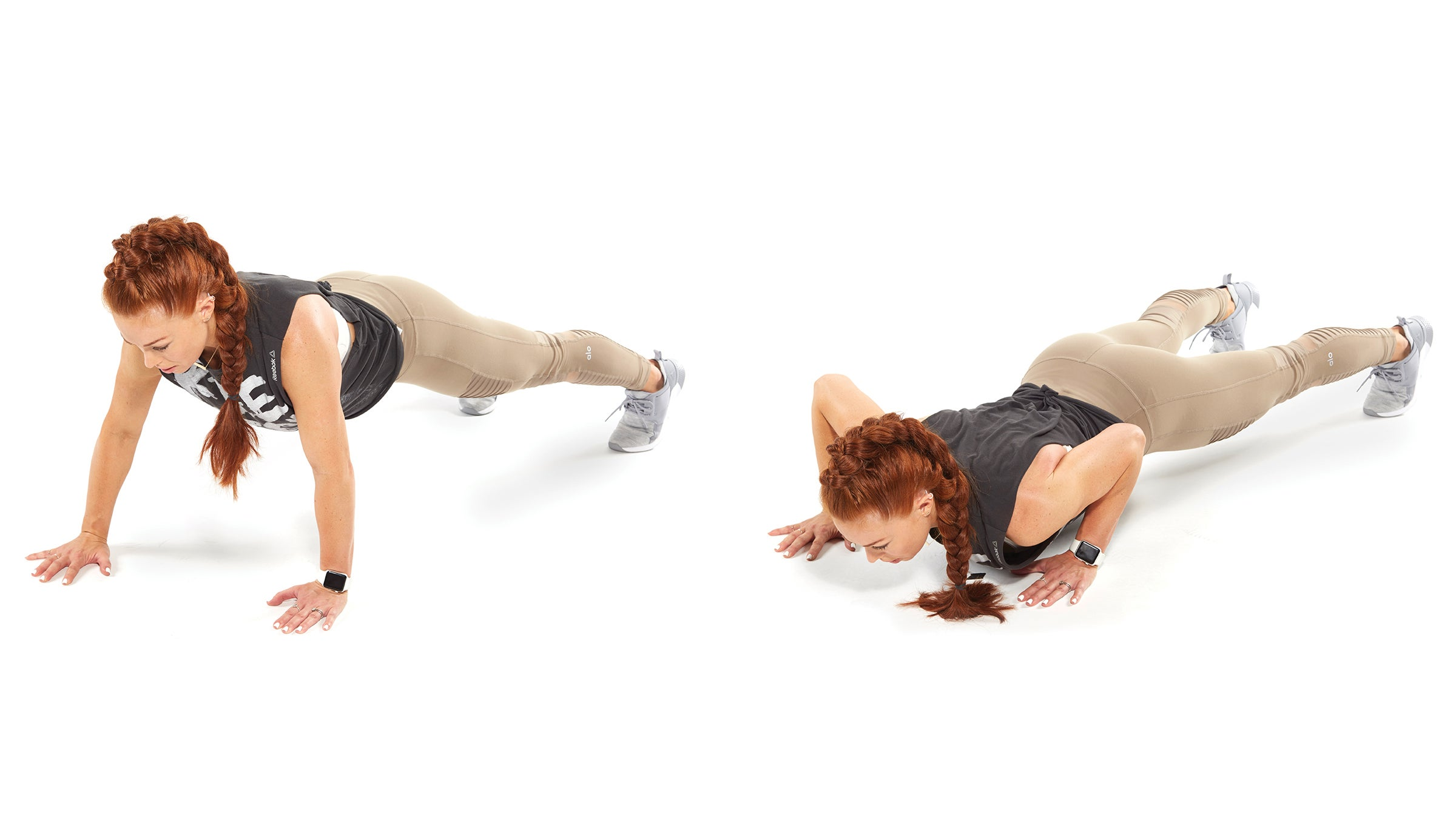 Split Arm Push-Up