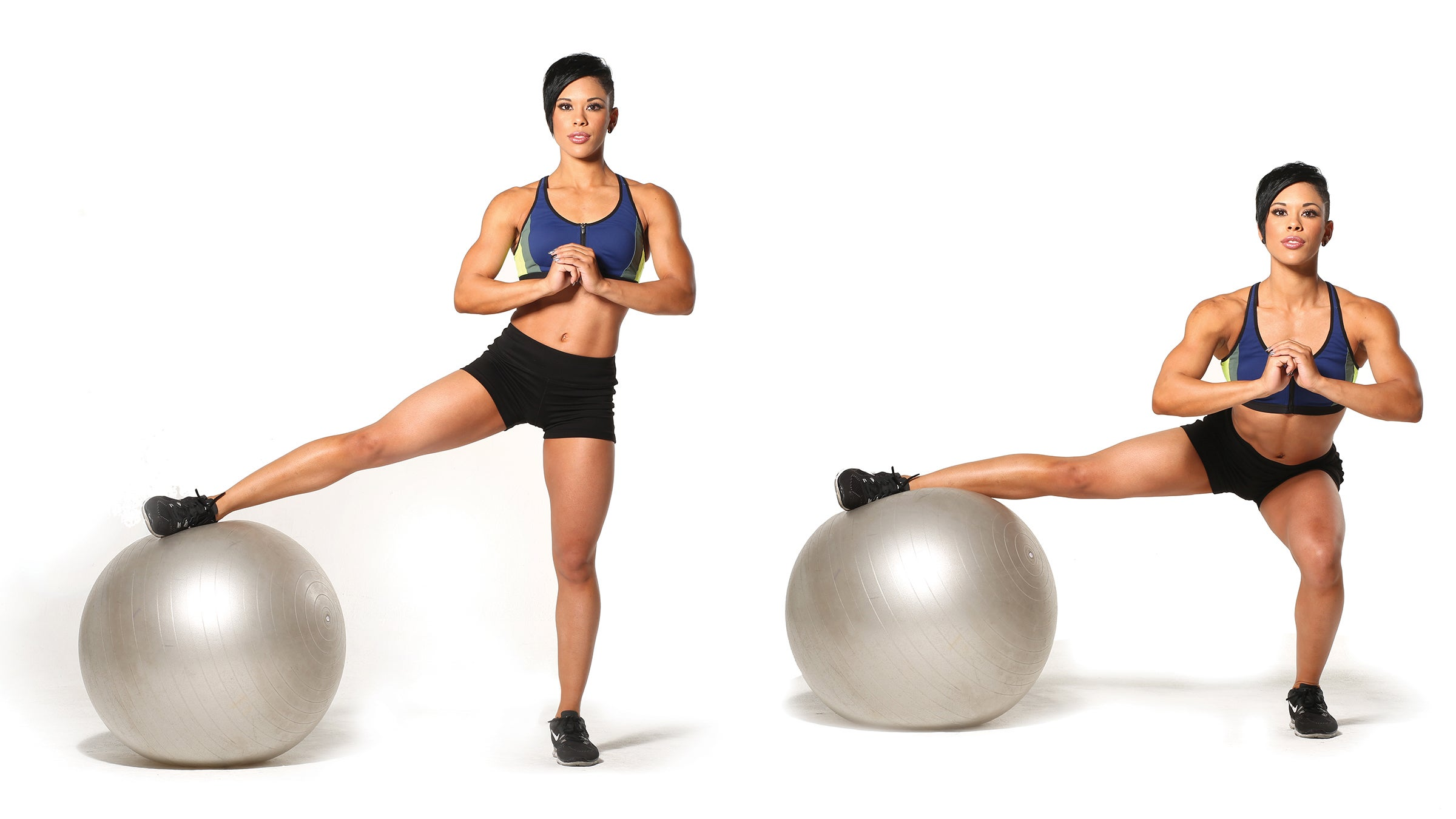 One-Legged Lateral Squat
