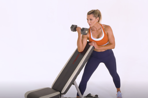 Incline-Bench Preacher Curl: With Talking Tips