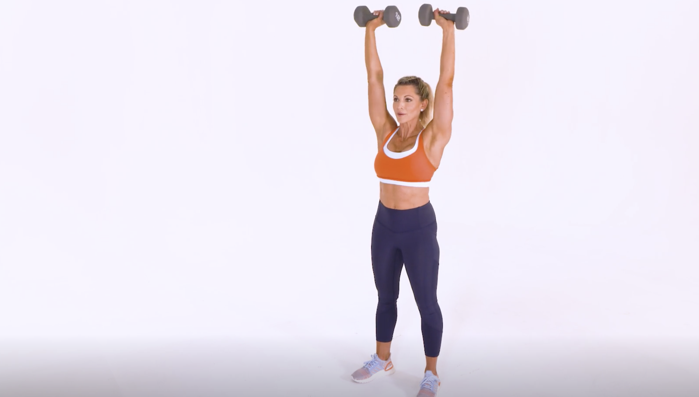 Overhead Dumbbell Shoulder Press: With Talking Tips