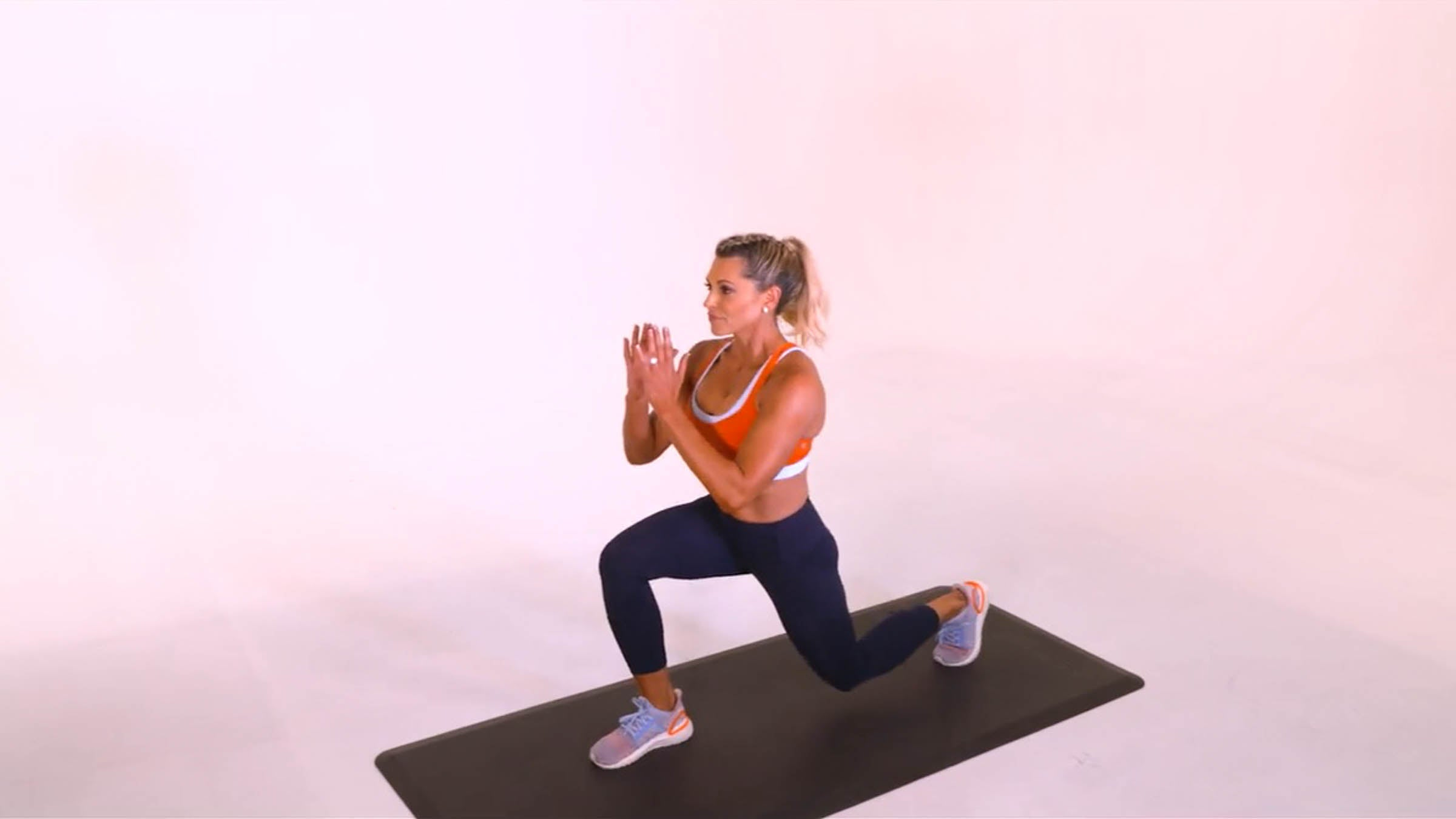 Front Lunge: With Talking Tips