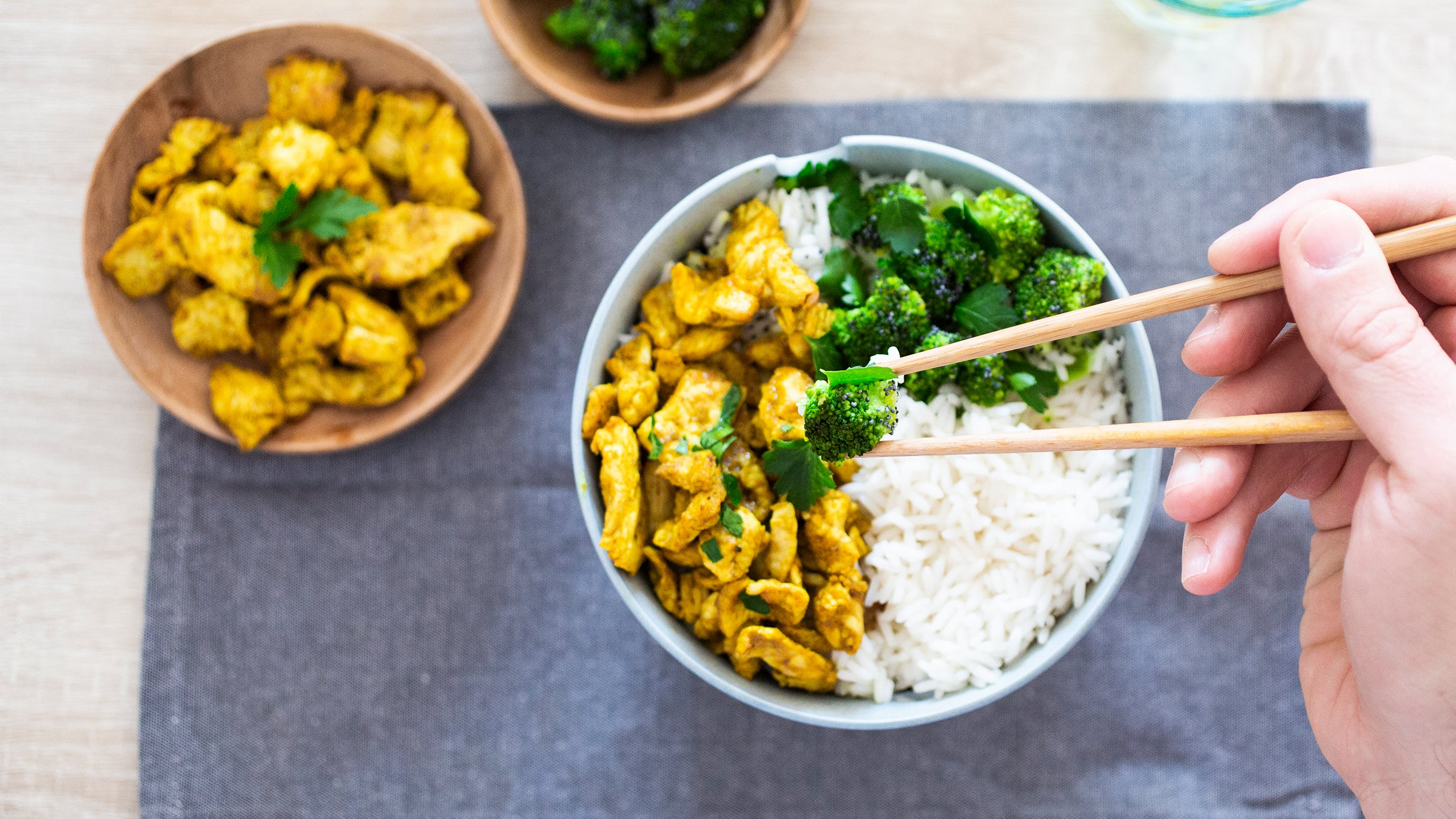 Yellow Curried Chicken