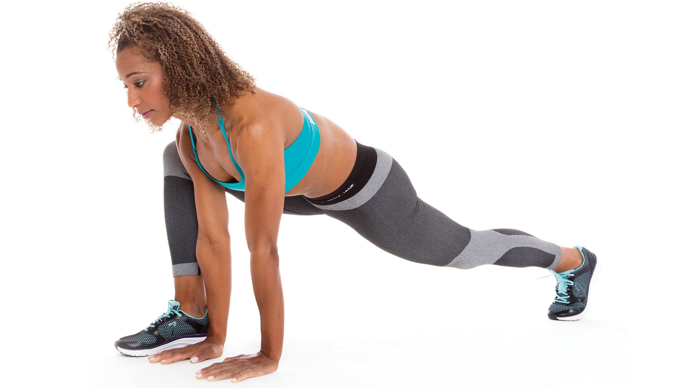 Kneeling Hip-Flexor Stretch/Runner's Lunge