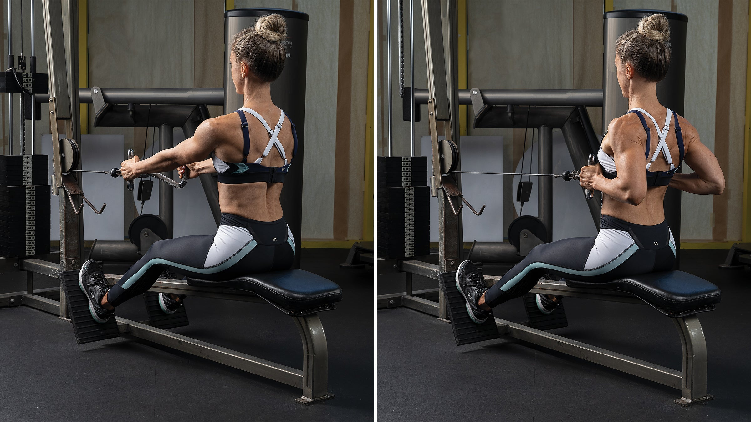 Two-Arm Seated Cable Row