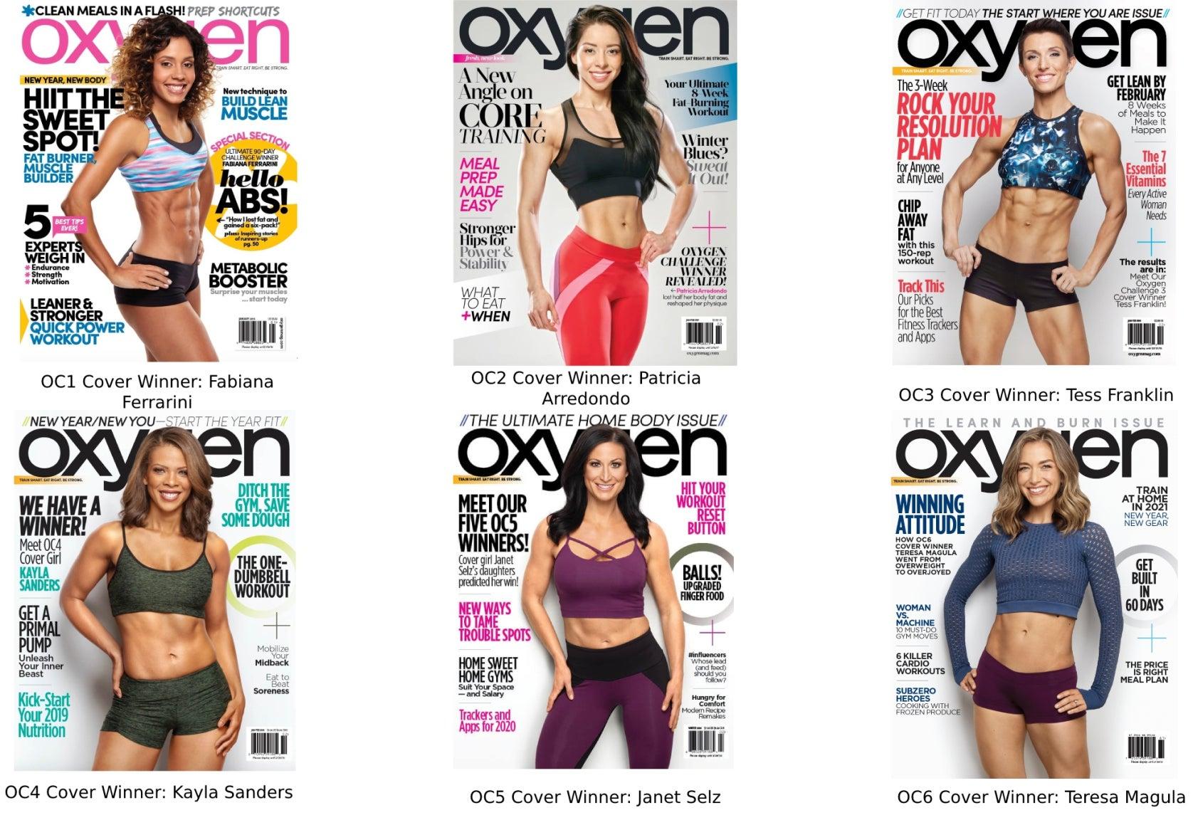Oxygen Challenge Winners