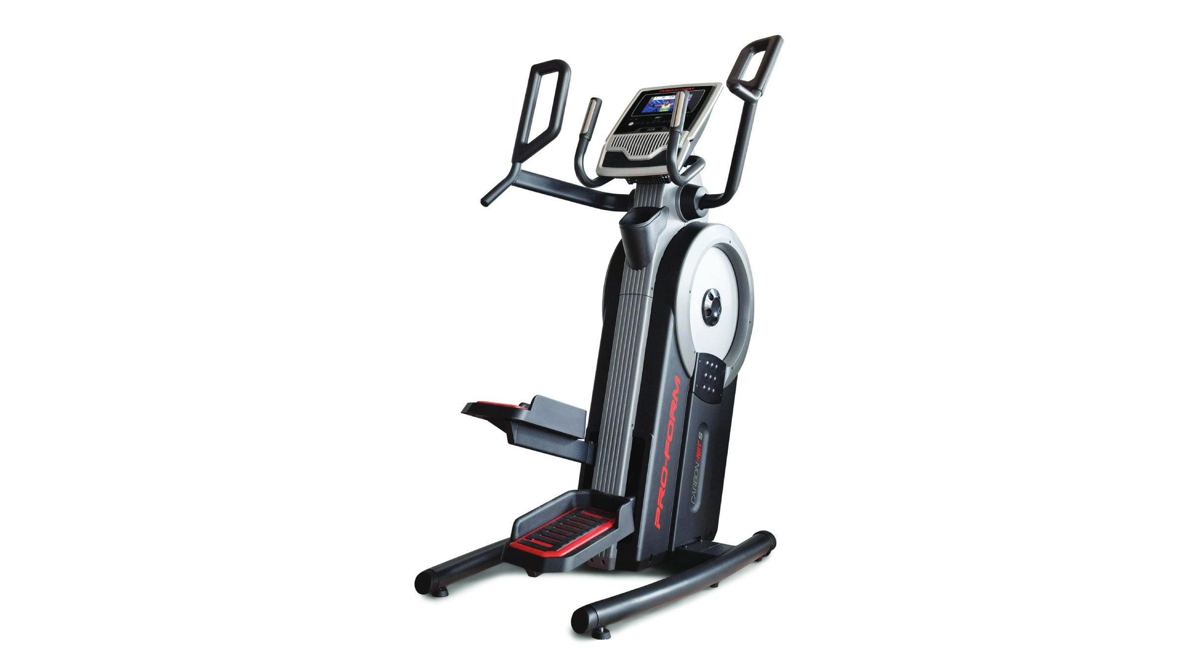 Elliptical workout machine