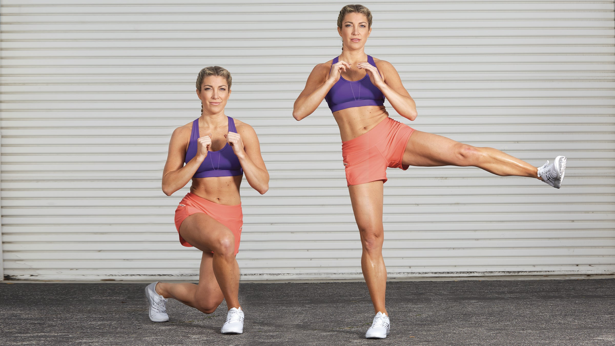 Curtsy Lunge With Hip Abduction