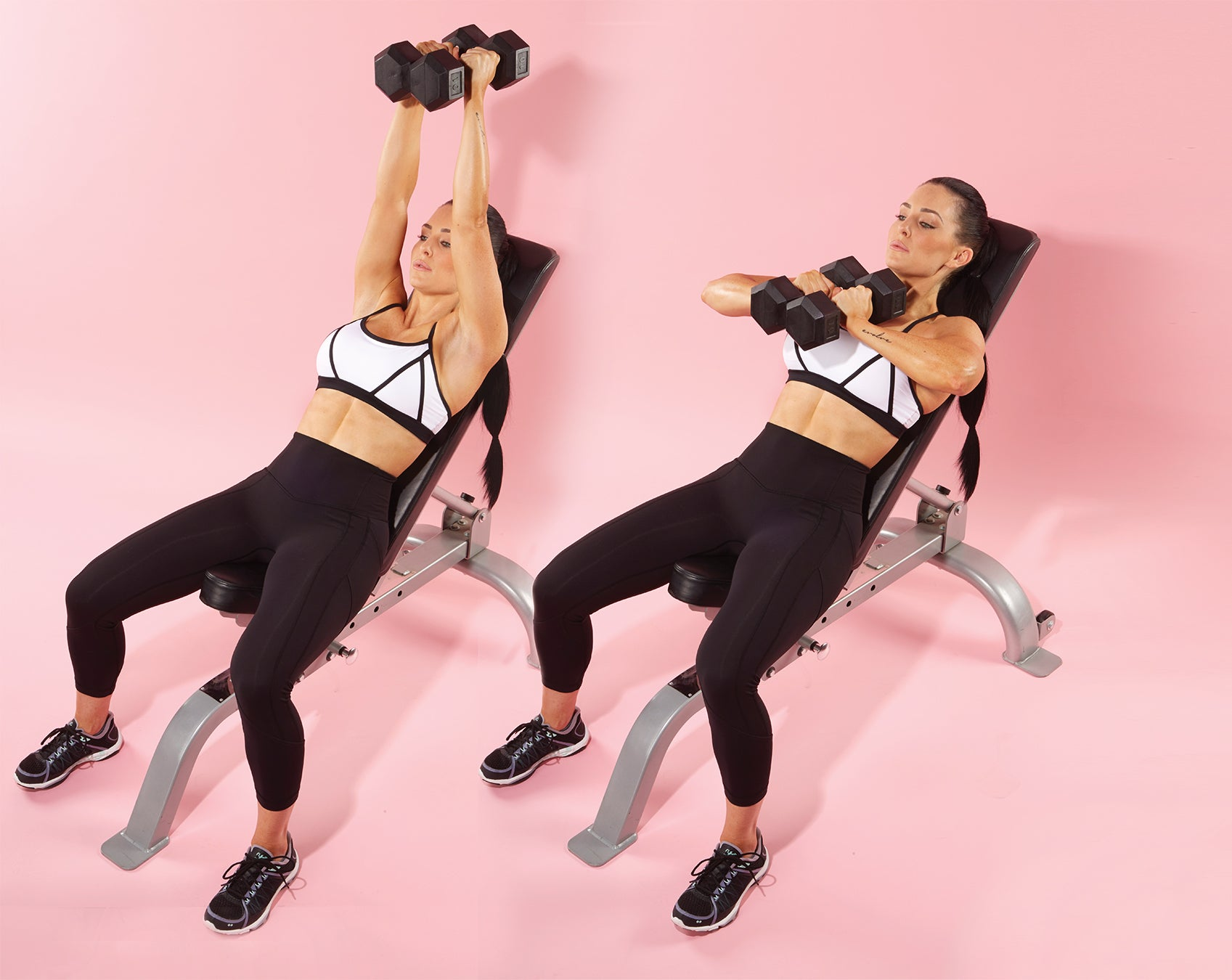 Incline Dumbbell Squeeze Press