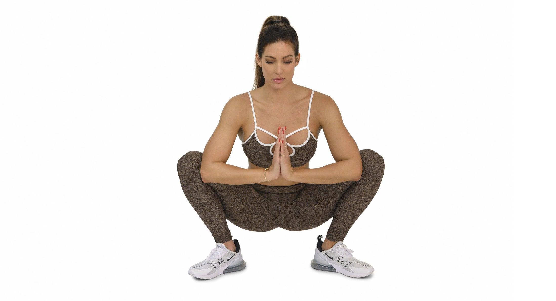 Sumo Hip Stretch