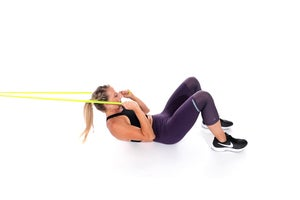 Resistance-Band Crunch