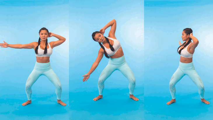 OBLIQUE CRUNCH AND TWIST