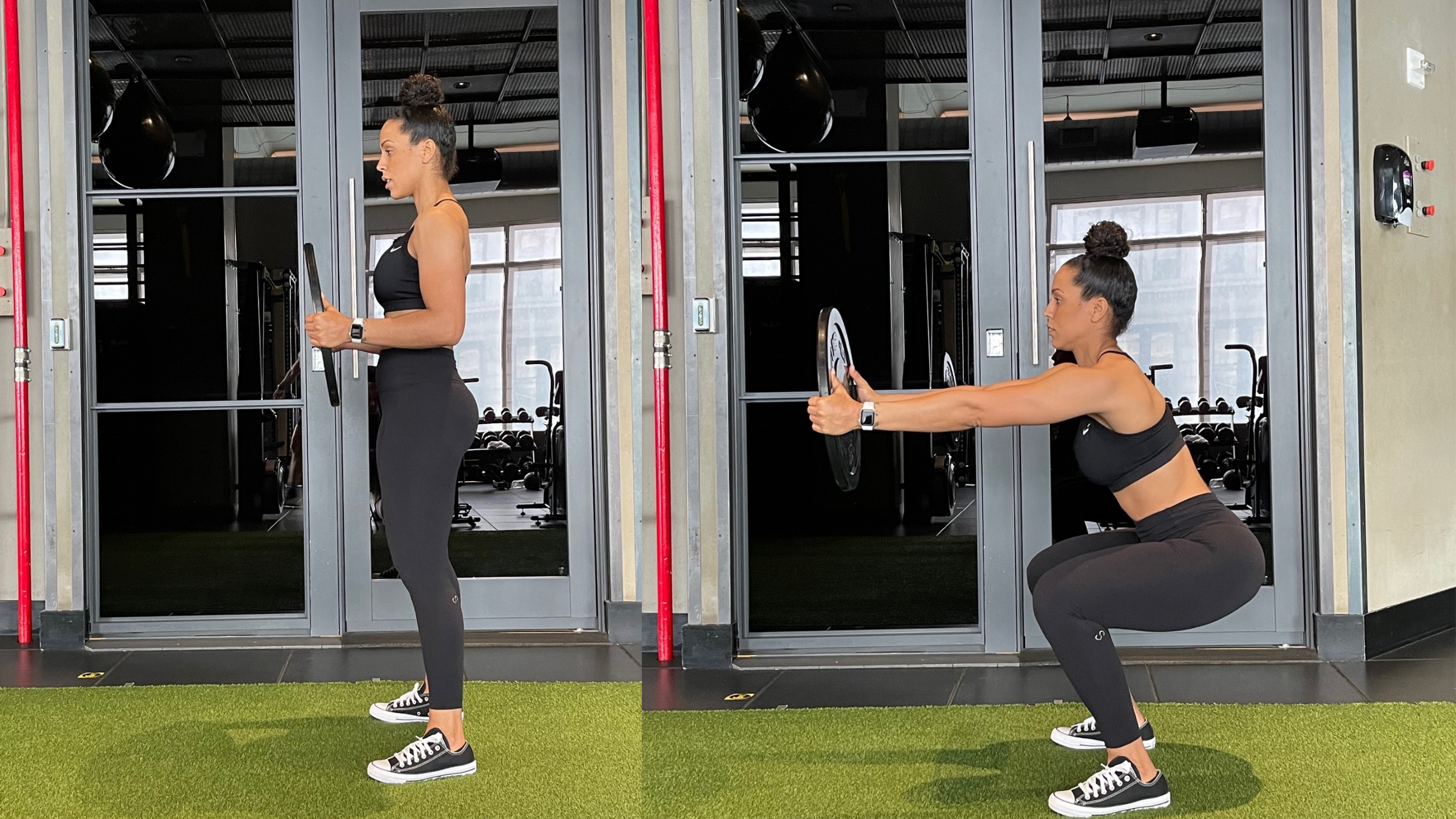 Plate-Hold Squat