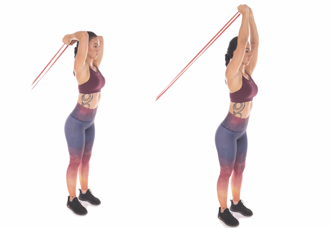 Resistance-Band Overhead Extension