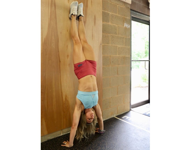 Handstand Hold Exercise